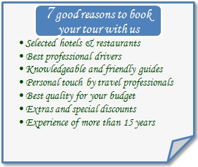 Seven reasons to book a tour with Cultural-Tours-Bulgaria
