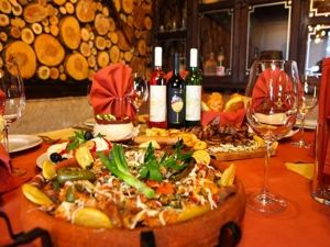 Cultural Tours Bulgaria ~ Bulgarian Wine and Cuisine, Traditional Table